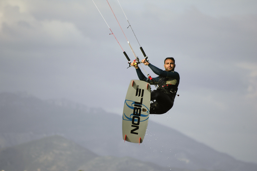 Kiter in action || Kiter in Aktion
