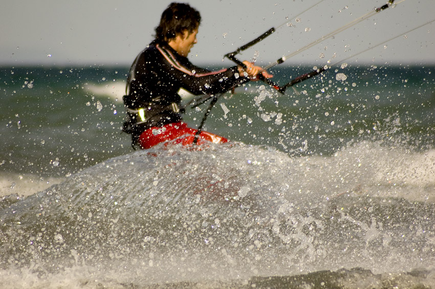 Kitesurfer