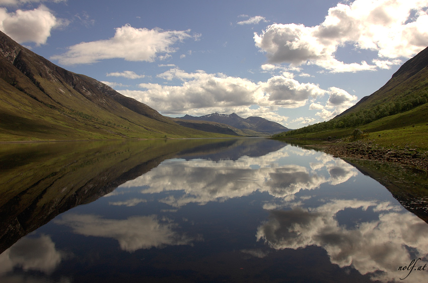 Loch Etive in Scotland