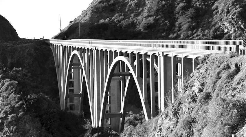 Bridge at Big Sur, California
